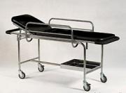 Chariot brancard Tige inox - Dimensions (L x l x H) mm: 1800 x 520 x 850
