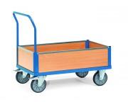 Chariot caisse en bois 500 Kg - Charge : 500 - 600 Kg