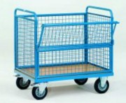 Chariot caisse mobile - Charge (kg) : 500