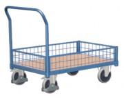Chariot caisse modulaire - Capacité de charge : 400 ou 500 kg