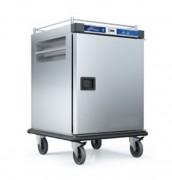 Chariot chauffant pour distribution repas - Capacité guides GN 2/1 (séparation de 60 mm) : 10 ou 20