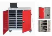 Chariot classe mobile pour pc portables - Ordinateurs portables de taille max : 90 x 340 x 470 mm (17