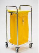 Chariot collecte linge - Tube rond Ø 25x1,5mm et Ø 16x1mm