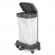 Chariot collecteur des déchets -  Capacité : 120 L ou 2 x 70 L