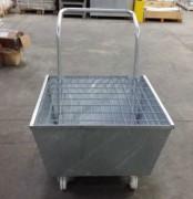 Chariot conique 1 fût - Capacité de charge : 300 kg