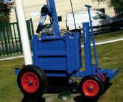 Chariot contrôle de sécurité terrain de sport - Dim : (L x l x H) : 1100 x 800 x 1800 mm
