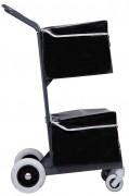 Chariot courrier 2 paniers - Dimensions hors tout (l x h x prof) mm : 560 x 1080 x 650