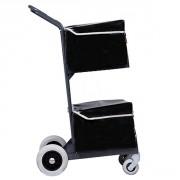 Chariot courrier 2 paniers avec sacoches - Volume panier : 2 x 40 litres