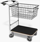 Chariot courrier corbeille haute capacité - Capacité : 250 kg