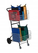 Chariot courrier ergonomique - Dim: 980 x 500 x 510   -  Ergonomique