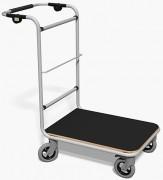 Chariot courrier plateau antidérapant - Capacité : 250 kg