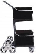Chariot courrier pour escaliers 2 x 35 Kg - Charge utile : 2 x 35 Kg