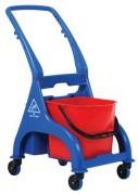 Chariot d'entretien 1 seau - Dimensions chariot (LxIxH)en cm : 62 x 42 x 90