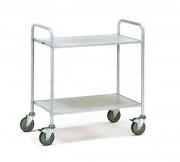 Chariot de bureau 2 plateaux 150 Kg - Charge : 150 kg