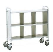 Chariot de bureau 6 compartiments - Charge (kg) : 150