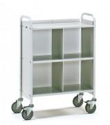 Chariot de bureaux acier - Charge (kg) : 150