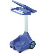 Chariot de collecte porte sacs - Dimension (L x h x l) mm : 560 x 520 x  935
