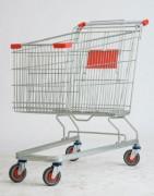 Chariot de course en fil - Volume du panier : 212 L