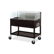 Chariot de cuisine réfrigéré - Dimensions ( L x l  X H ) : 1080 x 610 x 1120 mm