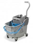 Chariot de lavage à double seau - Capacité : 30 L