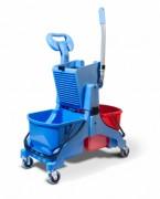 Chariot de lavage avec double seaux 16L - Double seaux 16L