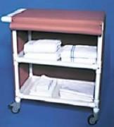 Chariot de linge 2 étagères - Nombre d'étagères : 2