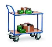 Chariot de magasin - Capacité : de 200 à 500 kg
