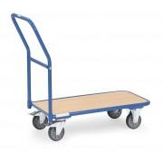 Chariot de magasin à dossier fixe - Charge (kg) : 250 -  Norme EN 1757-3