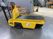 Chariot de magasinier électrique - Transporteur électrique qui facilitent la tâche des opérateurs
