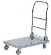 Chariot de manutention inox 100 Kg - Charge maxi (kg) : 100