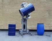 Chariot de manutention INOX pour fûts et bobines - Capacité : 300 KG