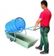 Chariot de manutention pour fûts - Capacité de charge : 250 kg