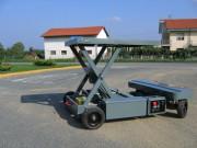 Chariot de manutention radiocommandé d'une portée de 5000 kg - Portée : Jusqu'à 5000 kg - Hauteur de travail : Jusqu'à 2 m