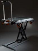 Chariot de manutention véhiculable - Capacité : 250 kg   -  Vitesse de monté : 20 sec. Env.