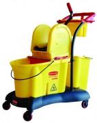 Chariot de ménage - Capacité (L) : 33