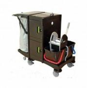 Chariot de ménage grandes surfaces - Idéal pour le nettoyage moyennes et grandes surfaces