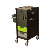 Chariot de ménage multi-usages - Dimensions : 57,5 x 61 x 101 cm