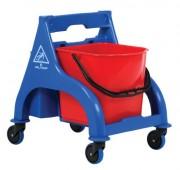 Chariot de nettoyage et d'entretien professionnel - Dimensions chariot (LxIxH) : 53 x 42 x 90 cm