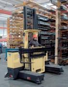 Chariot de préparation de commandes 3000 Kg - MU-OP 30 pneus pleins