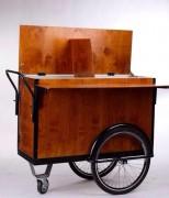 Chariot de présentation ambulant compact - Largeur : 73 cm   -  Longueur :126 cm