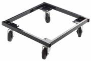 Chariot de rangement pour chaises empilables - Dimensions : L 54 x l 50 cm