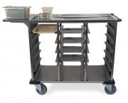 Chariot de restauration - Chariot de distribution de repas