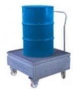 Chariot de rétention 1 fût - Capacité de rétention : 220 litres