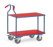Chariot de service 2 plateaux - Charge (kg) : 400