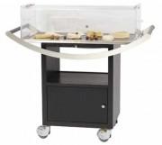 Chariot de service pour pâtisseries - Dimensions (L x l x H) cm : 108 x 53 x 116