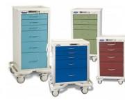 Chariot de soins infirmiers - Chariot hospitalier pour infirmières - personnalisable - acier ou aluminium