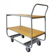 Chariot de transport 2 niveaux - Capacité : 200 kg