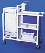 Chariot de transport à 3 étagères - Nombre d'étagères : 3