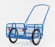 Chariot de transport grillagé - Capacité de charge : 120 kg