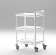 Chariot de transport polyvalent - Nombre d'étagères : 3